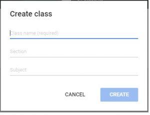 Aplikasi Google classroom sebagai media blended learning
