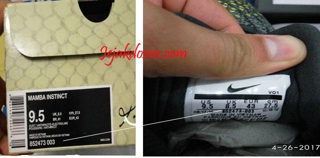 Cara membedakan sepatu Nike Asli dan Palsu | jejakdosen.com