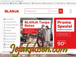 Cara transfer pembayaran di Blanja com via virtual Account BNI