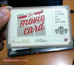 Kartu Movie Card Nonton di XXI dan 21 ga pake antri