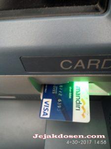 Bagaimana Cara Setor Tunai di ATM Bank Mandiri