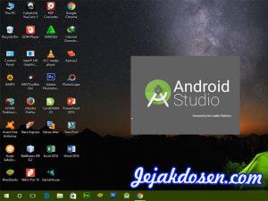 Kebutuhan minimum untuk install android studio di Laptop