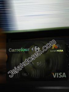 Cara membayar tagihan kartu kredit bank mega di ATM