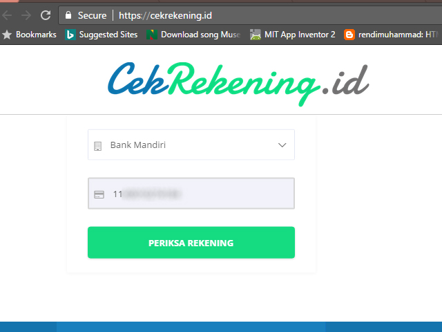 Cara Cek Rekening Penipu Transaksi Belanja Online Via Cekrekening Id