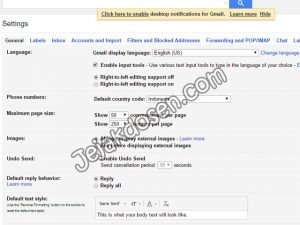 Cara Setting Email Auto Reply di gmail