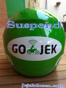 Driver Gojek Kena Suspend