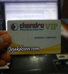 Cara Cek point kartu VIP Chandra departement store online