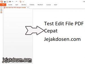 Cara edit teks file format pdf dengan mudah