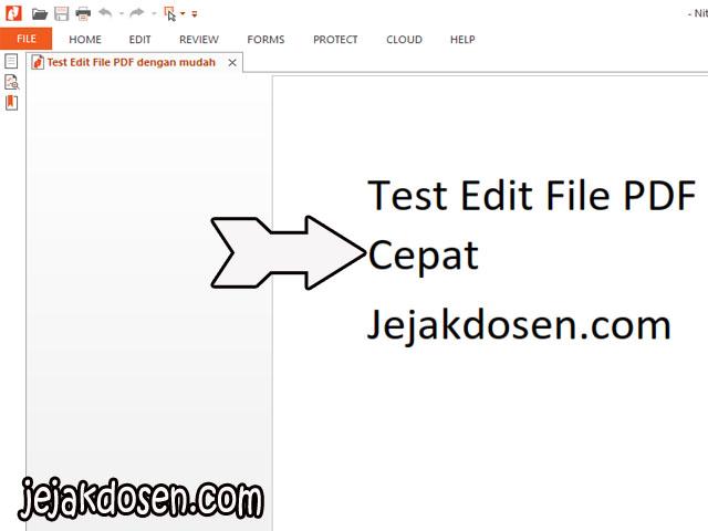 cara edit tulisan di pdf