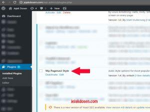 Cara Mudah Menampilkan Page Number di Blog WordPress