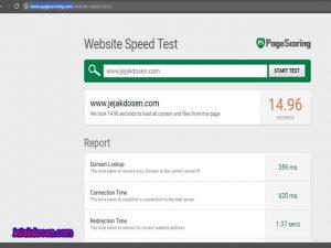 Website terbaik untuk mengukur kecepatan blog dan cara test blog