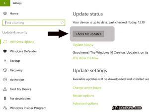 Aktifkan dan Update Windows defender Cegah Malware Ransomware