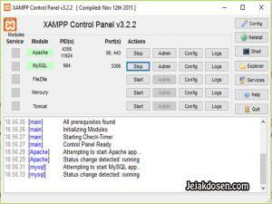 Cara Export Import Databases di PhpMyadmin Xampp