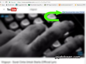 Download video di Youtube dengan mudah