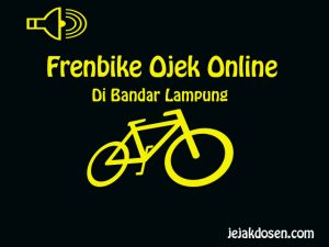 Ojek online Frenbike masuk Bandar Lampung -