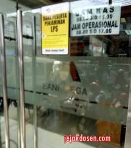 Jam Operasional Kantor Bank Mega Bandar Lampung