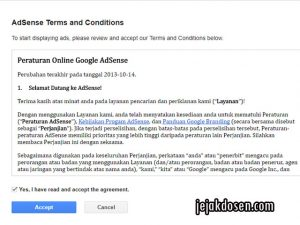Cara cepat dan mudah di terima google adsense