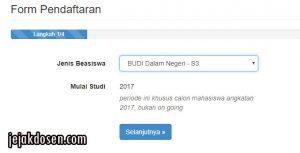 Pendaftaran Beasiswa Unggulan Dosen Indonesia atau Beasiswa Budi