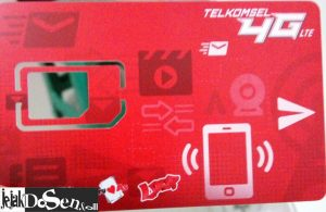 Upgrade kartu 4G telkomsel dapat paket murah internet