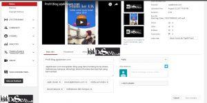 Cara mudah memasukan video youtube di postingan wordpress