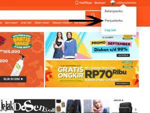 Cara menjual barang di toko online shopee