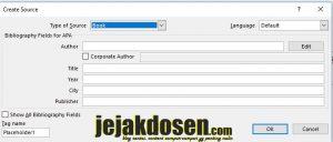 Cara membuat daftar pustaka dan citasi otomatis di word