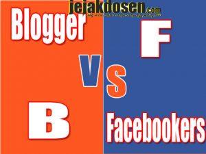 Perbedaan Blogger dan Facebookers yang perlu diketahui
