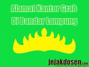 Alamat Kantor grab di Bandar Lampung