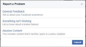 Bagaimana cara mengatasi error atau crash pada facebook anda