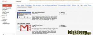 Menampilkan icon pesan belum terbaca pada gmail di Tab Browser