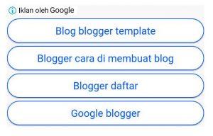 Cara pasang iklan tautan adsense di postingan blog