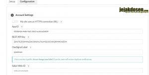 Cara membuat notifikasi postingan pada browser di wordpress