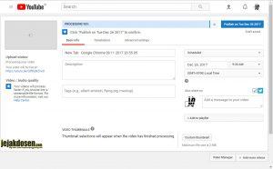 Bagaimana cara membuat jadwal upload video youtube secara otomatis
