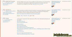 Cara mengatasi komentar spam masuk di wordpress
