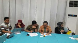 Workshop penyusunan output penelitian di bengkulu