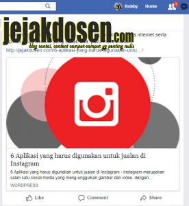 Cara menampilkan Tombol Share di Facebook tidak ada atau hilang