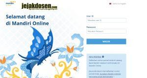 Cara membayar tagihan internet indihome di Internet Banking Mandiri