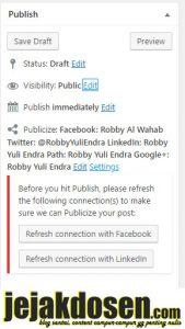 Cara menampilkan postingan wordpress selalu di paling atas
