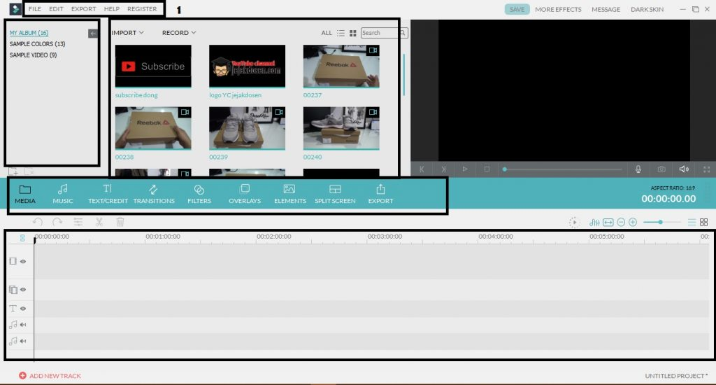 Cara Edit Video dengan Aplikasi Wondershare Filmora