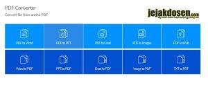 Cara convert file pdf ke semua format secara online terbaru