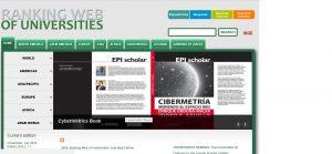 Website Webometrics mengukur dan meranking kampus di dunia
