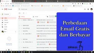Perbedaan Email Gratis dan Email Premium atau berbayar