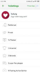 Install Aplikasi Modifikasi Whatsapp banyak fitur terbaru