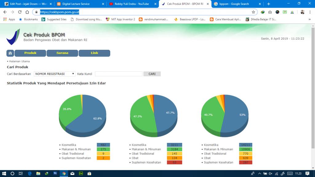 Bagaimana Cara cek produk yang terdaftar di BPOM RI